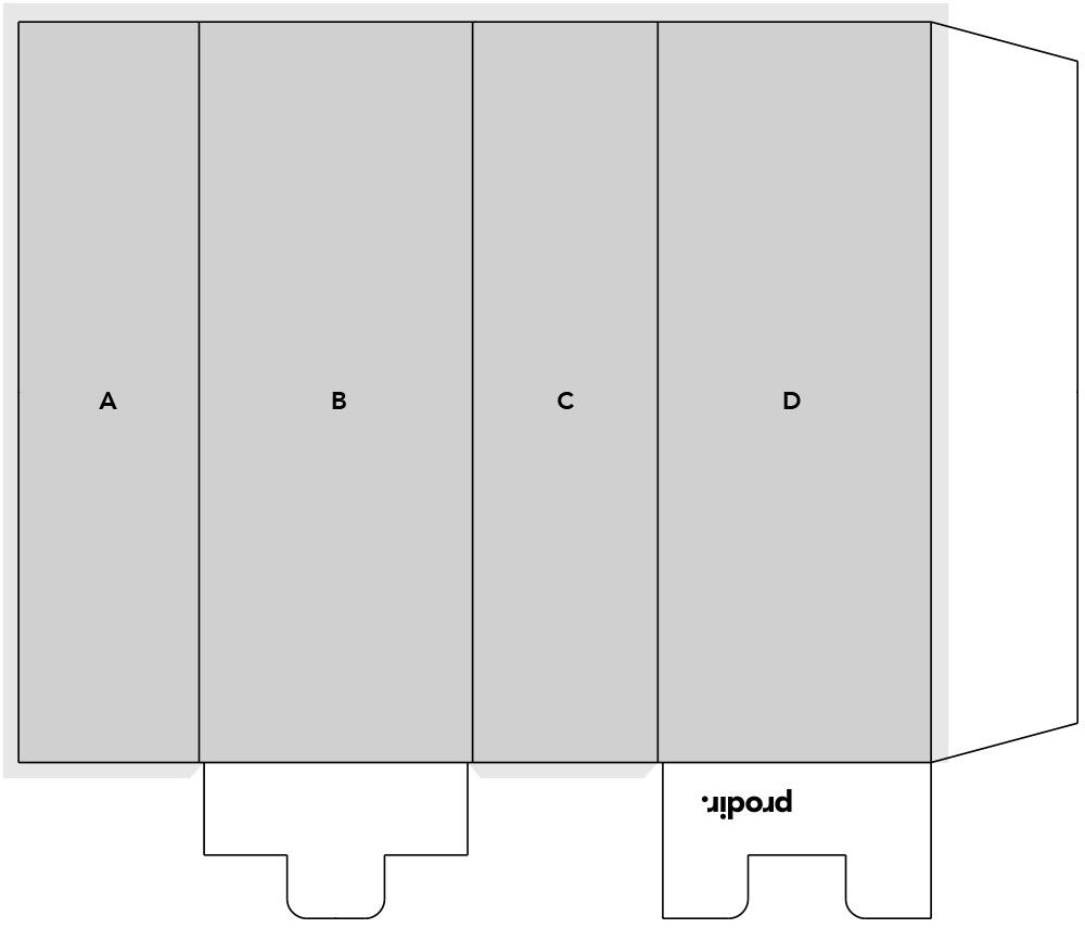 Prodir PS4 Verpackung für Kugelschreiber